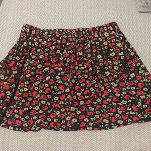 Floral cinched waist mini w/pockets, Cooperative L